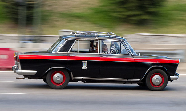 SEAT 1500 taxi